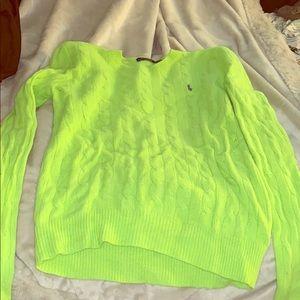 Polo green sweater